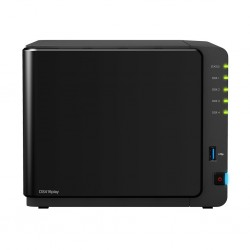 Synology DS416Play Network Attatch Storage ขนาด 4Bay สูงสุด 40TB รองรับ Media Streaming, iTune Server, Load Bit