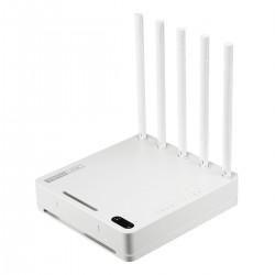 TOTOLINK A5004NS Wireless AC Router ความถี่ Dual-Band 2.4/5GHz ความเร็วสูงสุด 1300Mbps, 4 Port Lan Gigabit Broadband Router