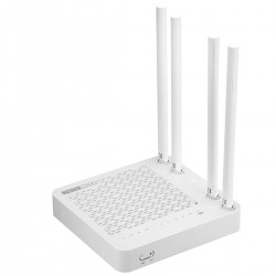 TOTOLINK A850R Wireless AC Router ความถี่ Dual-Band 2.4/5GHz ความเร็วสูงสุด 867Mbps, 4 Port Lan Gigabit