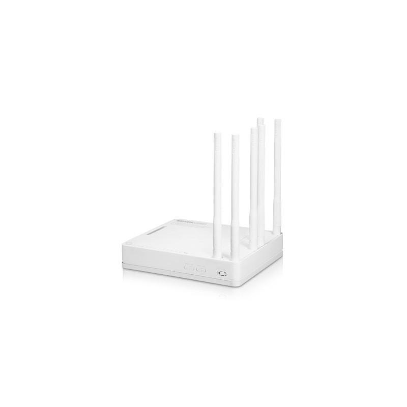 TOTOLINK A6004NS AC1900 Wireless Dual Band Gigabit NAS Router 2.4/5GHz ความเร็วสูงสุด 1.9Gbps, 4 Port Gigabit  Broadband Router
