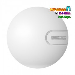 TOTOLink N9 Wireless Access Point มาตรฐาน N ความถี่ 2.4GHz ความเร็ว 300Mbps รองรับ POE Wireless AccessPoint (กระจายสัญญาณ WIFI)