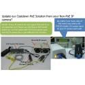 Power Switch PUS051D-24V Passive POE Switch 5 Port 10/100Mbps จ่ายไฟ 4 Port 24VDC-3A สูงสุด 72W Switches เชื่อมเครือข่ายแบบสาย