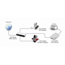 Edimax PS-1206U Print Server แบบ USB Port รองรับ Printer มากกว่า 300 รุ่น Print Server แชร์ Printer ผ่านเครือข่าย