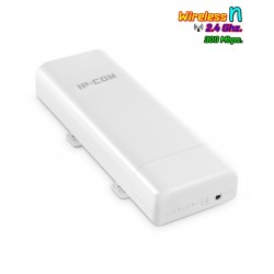 IP-COM AP515 Outdoor Wireless Access Point 2.4GHz มาตรฐาน N 300Mbps เสาแบบทิศทาง พร้อม POE ในชุด Wireless AccessPoint (กระจาย...