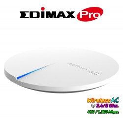 Edimax CAP1750 Ceiling-Mount PoE Access Point มาตรฐาน AC Dual-Band ความเร็ว 1750Mbps รองรับ POE