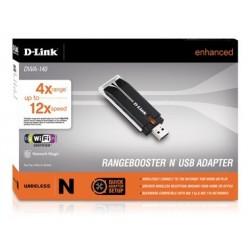 D-Link D-Link DWA-140 Wireless USB 300 Mbps RangeBooster N™