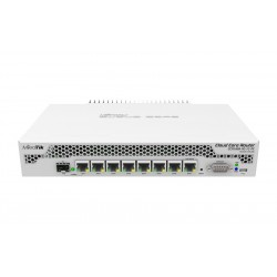 MikroTIK Mikrotik CCR1009-7G-1C-PC Cloud Core Router CPU 9-Core 1GHz Ram 1GB, 7 Port Giagbit 1 Port SFP ROS LV.6