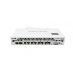 Mikrotik CCR1009-7G-1C-1S+PC Cloud Core Router CPU 9-Core 1GHz Ram 2GB, 7 Port Giagbit 1 Port SFP Plus ROS LV.6 Mikrotik Router