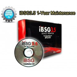 iBSG3.5 1-Year Maintenance License ต่ออายุบริการการ Support iBSG Software