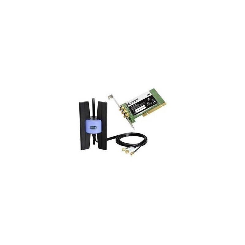 Wireless PCI Adapter Linksys WMP300N Wireless-N Desktop PCI Card