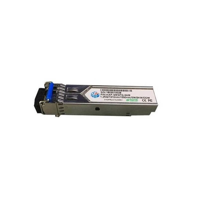 SFP Module SM-03A LC Simplex Speed 1.25GBps Wavelength 1310nm/1550nm 3KM With DDM MiniGBIC / SFP Module