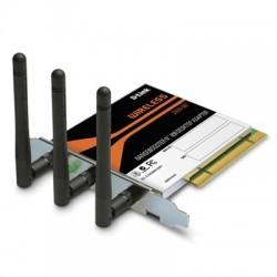 D-Link D-Link DWA-547 - 300 Mbps (802.11n Draft) PCI Adapter + RangeBooster N™