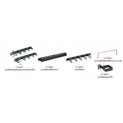 แผงจัดสายห่วงพลาสติก US-3051 CABLE MANAGEMENT PLASTLC RING PANEL อุปกรณ์ประกอบตู้ Rack