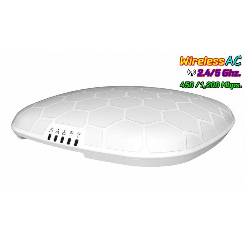 LigoWave NFT 2ac-TH Access Point มาตรฐาน AC Dual-Band ความเร็ว 1200Mbps รองรับ Infinity Controller Wireless AccessPoint (กระจ...