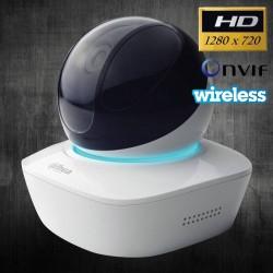 dahua DH-IPC-AW12WP IP Camera แบบ Wireless รองรับ Pan/Tilt ความละเอียด HD 720P, IR, บันทึกลง SD Card