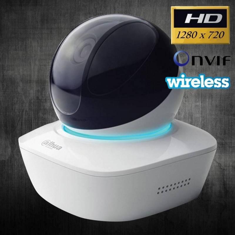 dahua DH-IPC-AW12WP IP Camera แบบ Wireless รองรับ Pan/Tilt ความละเอียด HD 720P, IR, บันทึกลง SD Card กล้อง IP Camera / เครื่อ...