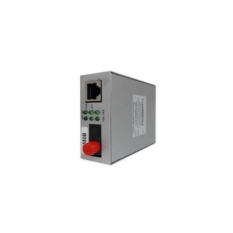 SysNet Center KAP-MCSMG-20A Media Converter สาย SM Single Fiber 1310nm/1550nm หัว FC ความเร็ว Gigabit ระยะ 20 Km