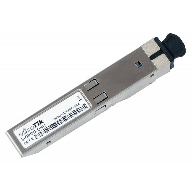 Mikrotik SFPONU GPON ONU module เชื่อมต่อกับ Fiber Optic แบบ Simplex หัวต่อแบบ SC ใช้กับระบบ Fiber To Home FTTx MiniGBIC / SF...