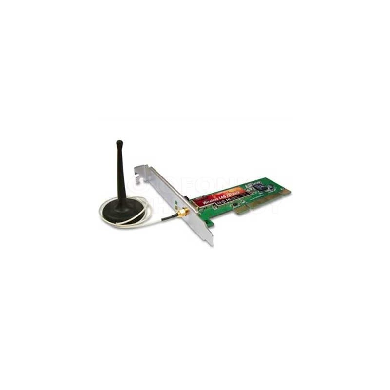 Edimax Wireless PCI Adapter Edimax EW-7128G - 54 Mbps PCI Network Adapter + Cable