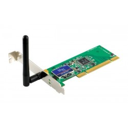 PCI GW-DS54GR 2.4 GHz 54Mbps Wireless LAN PCIBus Adapter Wireless PCI Adapter