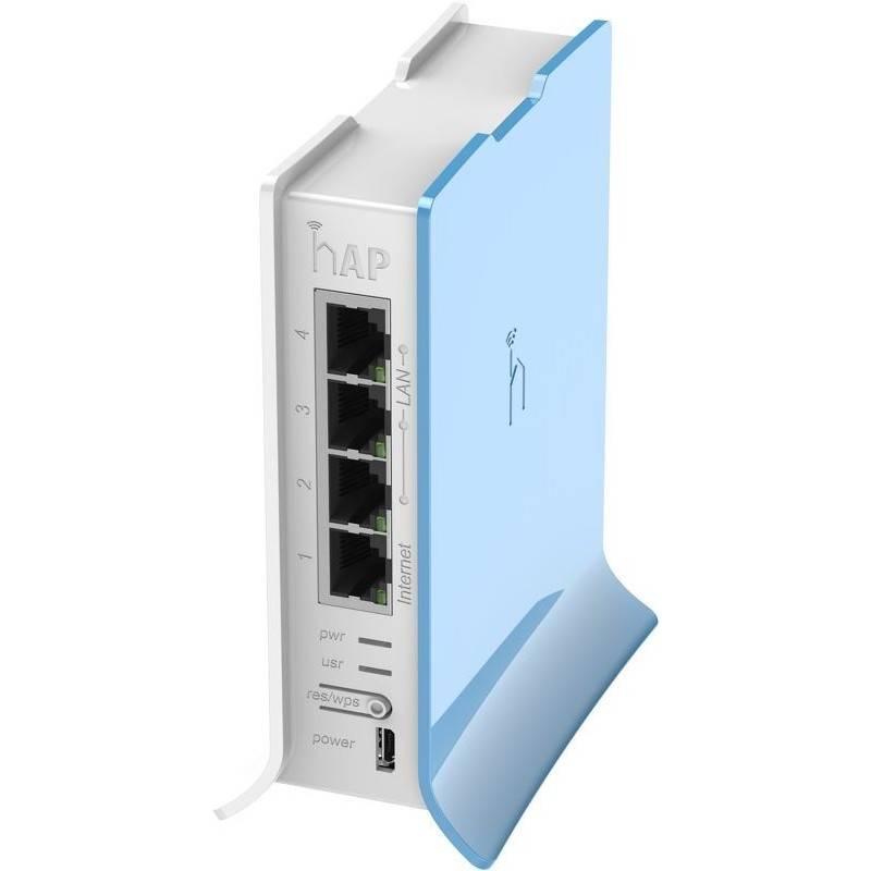 MikroTIK Mikrotik Router RB941-2nD-TC (hAP Lite) CPU 650MHz Ram 32MB, 5 port 10/100Mbps, ROS LV.4