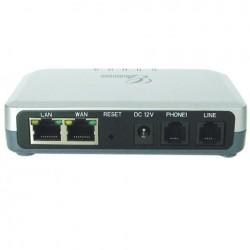 Grandstream HT-503 IP Analog Telephone Adapter (ATA) 1 FXS, 1 FXO, 2 Port Lan, รองรับ T.38, 2 SIP Account VOIP / IP-PBX ระบบโ...
