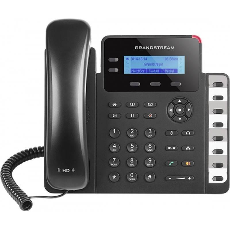 GrandStream GXP-1628 IP-Phone 2 คู่สาย 2 Port Lan, HD Audio, Backlit LCD display, 3-Way Conference VOIP / IP-PBX ระบบโทรศัพท์...