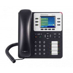 GrandStream GXP-2130 IP-Phone 3 คู่สาย, Bluetooth, 2 Port Lan, HD Audio, LCD Color, 4-Way Conference, PoE VOIP / IP-PBX ระบบโ...