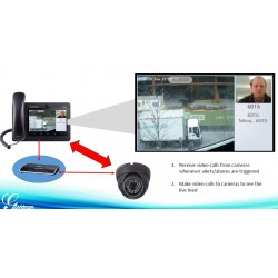 GrandStream GXV-3240 Video IP-Phone Android, 6 คู่สาย, Build-In Camera, Touch Screen, POE VOIP / IP-PBX ระบบโทรศัพท์แบบ IP