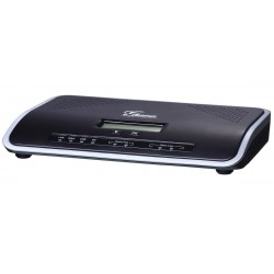 Grandstream UCM6204 ตู้สาขา IP-PBX Appliance 4FXO, 2FXS รองรับ 4 คู่สายนอก 2 Port Lan, 45 Concurrent call