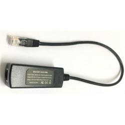 ZQ-GAT-24V15W Gigabit POE Converter แปลงไฟ POE 802.3af/at เป็น 24VDC ใช้กับอุปกรณ์ที่รองรับ Passcive POE Power Over Ethernet ...