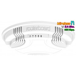 Mikrotik cAP-2nD RBcAP2nD Wireless Access Point ภายในอาคาร 2.4GHz ความเร็ว 150Mbps พร้อม POE Wireless AccessPoint (กระจายสัญญ...