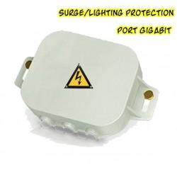 EnGenius ESA-7600G Superior Surge and Lightning Protection ปกป้องระบบเครือข่ายที่เกิดจากฟ้าผ่าผ่านสาย Lan