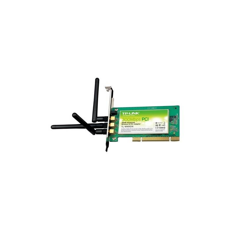 TP-Link Wireless PCI Adapter TP-Link TL-WN951N Wireless N PCI Adapter