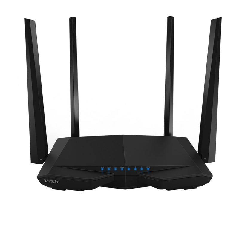TENDA AC6 Wireless AC Router Dual-Band ความถี่ 2.4/5GHz มาตรฐาน AC ความเร็วสูงสุด 867Mbps รองรับ Mode Repeate Router/ Firewal...
