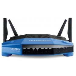 Linksys Router/ Firewall/ VPN/ Loadbalance Linksys WRT1900AC Wifi Router Dual Band 2.4GHz/5GHz มาตรฐาน AC ความเร็วสูงสุด 1300...
