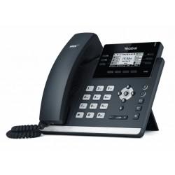 Yealink SIP-T42G โทรศัพท์แบบ IP (IP-Phone) จอ LCD รองรับ 12 SIP Account, HD Voice 2 Port รองรับ POE