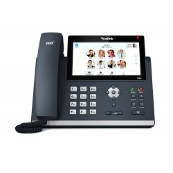 Yealink IP-Phone เครื่องโทรศัพท์แบบ IP Yealink SIP-T48G โทรศัพท์แบบ IP (IP-Phone) จอ 7 นิ้ว color touch screen 16 SIP Account...