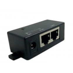 Power Over Ethernet (POE) ZQ-POE-1001 POE Injector Pin 4-5 Positive Pin7-8 Negative ใช้กับอุปกรณ์ที่รองรับ Passive POE