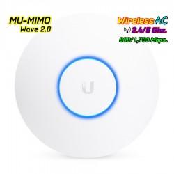 Ubiquiti UniFi UAP-AC-HD Access Point มาตรฐาน ac 4x4 MU-MIMO Wave 2 ความเร็วสูงสุด 1733Mbps Wireless AccessPoint (กระจายสัญญา...