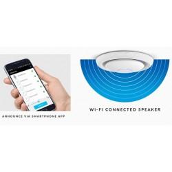 Ubiquiti Ubiquiti UniFi UAP-AC-EDU Access Point AC 3x3 MIMO 1300Mbps พร้อมลำโพงและไมโครโฟนเพื่อการกระจายเสียง