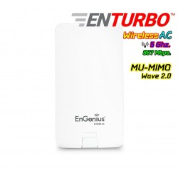 Engenius ENS500-AC MU-MIMO Wave 2 Outdoor Accees Point 5GHz Wireless AC 867Mbps Wireless AccessPoint (กระจายสัญญาณ WIFI)