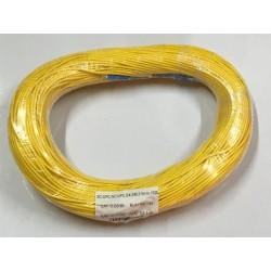 Fiber-Optic Cable หัว SC/UPC-SC/UPC สำเร็จจากโรงงาน แบบ Indoor, Simplex, Single Mode 3.0MM. 100 เมตร Fiber Optic อุปกรณ์ระบบ ...