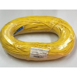 Fiber-Optic Cable หัว SC/UPC-SC/UPC สำเร็จจากโรงงาน แบบ Indoor, Simplex, Single Mode 3.0MM. 200 เมตร Fiber Optic อุปกรณ์ระบบ ...