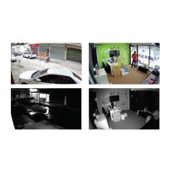 ACTi Z91 Mini Dome ความละเอียด 4MP Day/Night, Adaptive IR, Extreme WDR, Superior Low Light Sensitivity ACTi (แอคตี้)