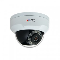 ACTi Z91 Mini Dome ความละเอียด 4MP Day/Night, Adaptive IR, Extreme WDR, Superior Low Light Sensitivity ACTi (แอคตี้)