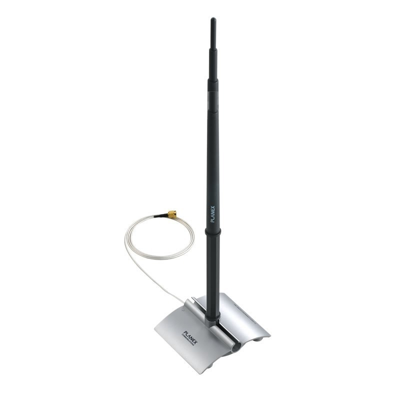 PCI-ANT-IN-10 - 2.4GHz Indoor Omni Antenna 10dBi with Stand (1M Cable)