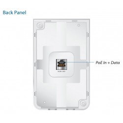Ubiquiti UniFi UAP-AC-IW-5 In-Wall Access Point Pack 5 ชุด แบบติดผนัง มาตรฐาน AC 867Mbps Dual-Band, 3 Port Gigabit Wireless A...