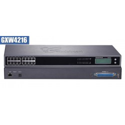 Grandstream GXW-4216 FXS Gateway ขนาด 16-Port FXS, 1 Port Lan, T.38 Fax Over IP, 132x48 backlit graphic