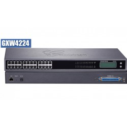 Grandstream GXW-4224 FXS Gateway ขนาด 24-Port FXS, 1 Port Lan, T.38 Fax Over IP, 132x48 backlit graphic
